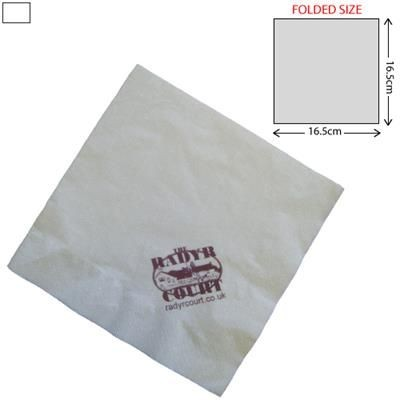 LUNCH AIRLAID NAPKIN