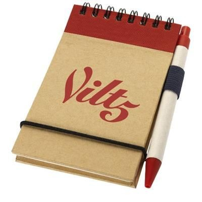 ZUSE JOTTER AND PEN in Natural-red