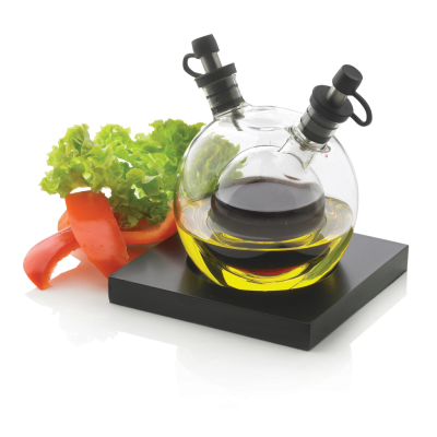 ORBIT OIL AND VINEGAR SET in Black