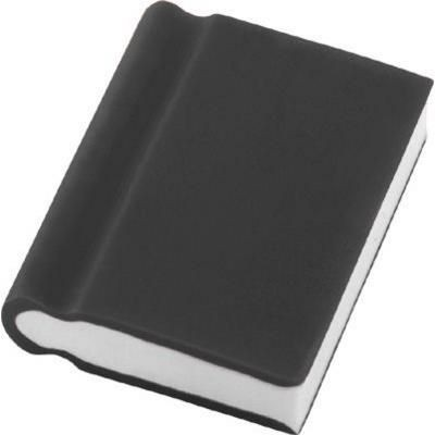 BOOK ERASER in Black