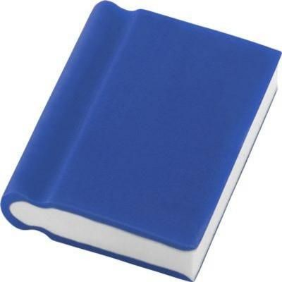 BOOK ERASER in Blue
