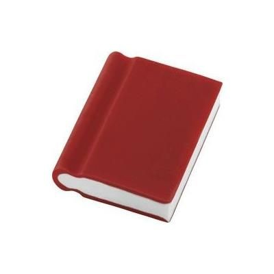 BOOK ERASER in Red