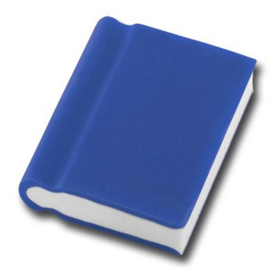 BOOK SHAPE ERASER in Blue