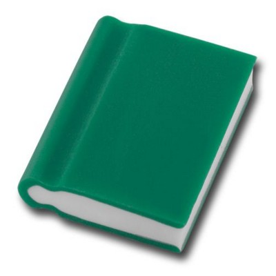 BOOK SHAPE ERASER in Green