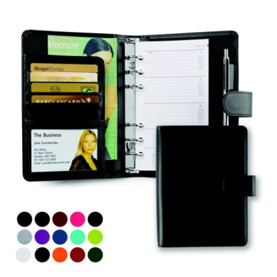 BELLUNO PU A5 PERSONAL ORGANIZER in Soft Touch Leatherette