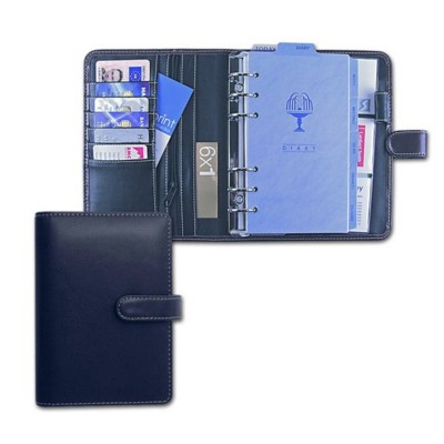 COLLINS DOMANI PERSONAL ORGANIZER in Navy Blue