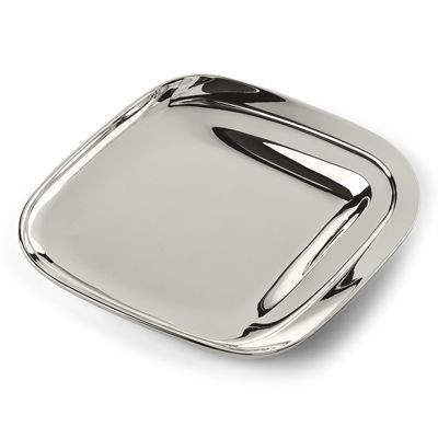 CURTI DESIGN METAL PLATE in Silver