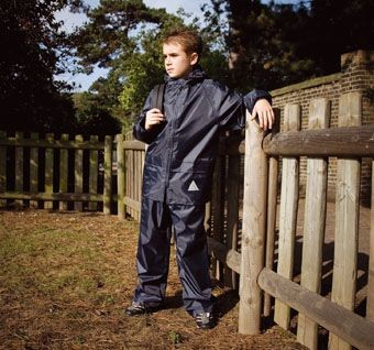 RESULT WATERPROOF CHILDRENS JACKET & TROUSER SUIT in Carry Bag