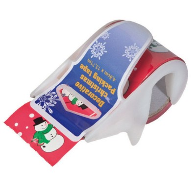 ADHESIVE RIBBON & DISPENSER in Red