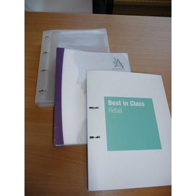 A4 POLYPROPYLENE RING BINDER
