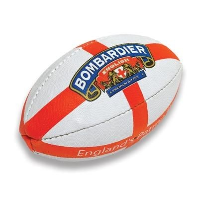PIMPLED GRAIN MINI RUGBY BALL