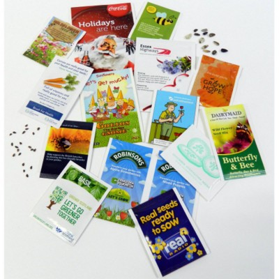 PERSONALISED SEEDS PACKET
