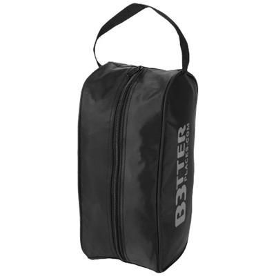 PORTELA SHOE BAG in Black Solid