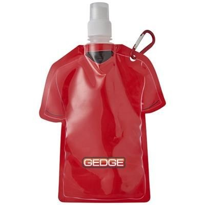 GOAL FOOTBALL JERSEY WATER BAG in Red