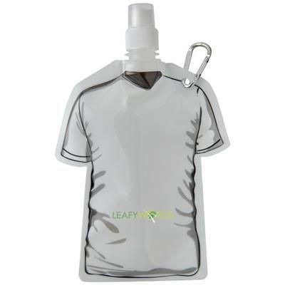 GOAL FOOTBALL JERSEY WATER BAG in White Solid