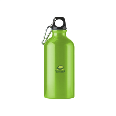 ALUMINI 500 ML ALUMINIUM METAL WATER BOTTLE in Green