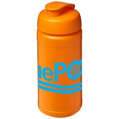 BASELINE® PLUS 500 ML FLIP LID SPORTS BOTTLE in Orange
