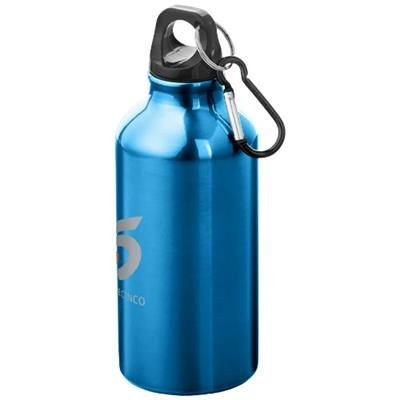 OREGON DRINK BOTTLE with Carabiner in Blue