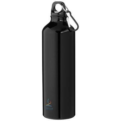 PACIFIC BOTTLE with Carabiner in Black Solid