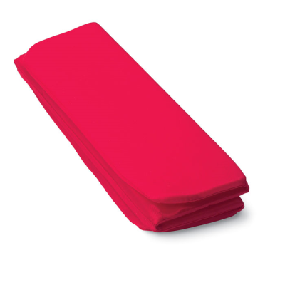 FOLDING STADIUM SEAT CUSHION in Red