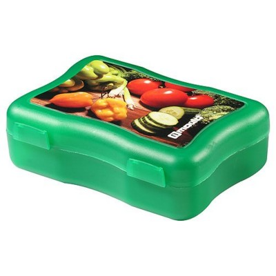 IMOULD BRANDED PLASTIC WAVE MEDIUM STORAGE LUNCH BOX