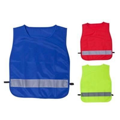 ELI CHILDRENS HIGH VISIBILITY SAFETY VEST with Reflective Strip