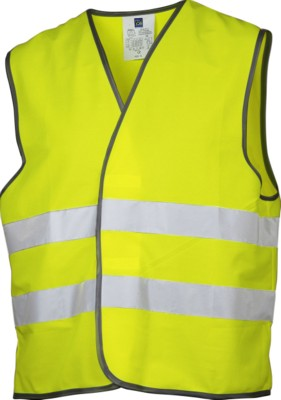 PROJOB HIGH VISIBILITTY SAFETY VEST in Yellow