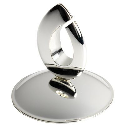 FLAME METAL PLACE CARD HOLDER in Silver