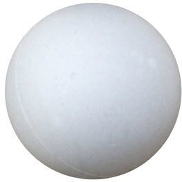 PROMOTIONAL PING PONG TABLE TENNIS BALL in White