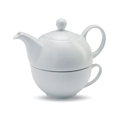 TEA SET in White