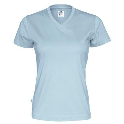 COTTOVER TEE SHIRT V-NECK LADIES
