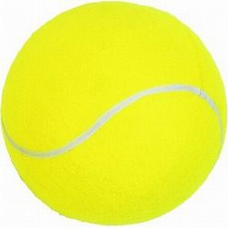 LARGE TENNIS BALL in Yellow