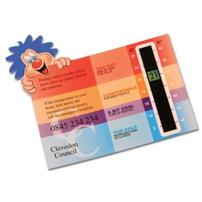 POSTIE THERMOMETER GAUGE CARDS