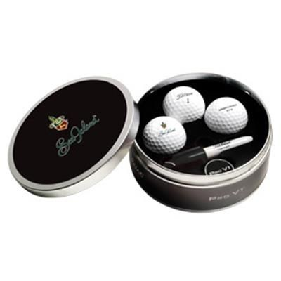 TITLEIST PRO V1 GOLF TIN