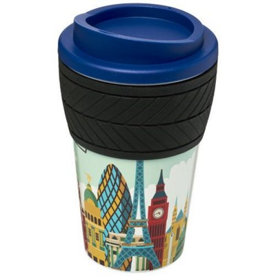 BRITE-AMERICANO® TYRE 350 ML THERMAL INSULATED TUMBLER in Mid Blue