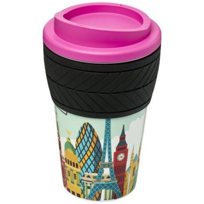 BRITE-AMERICANO® TYRE 350 ML THERMAL INSULATED TUMBLER in Pink