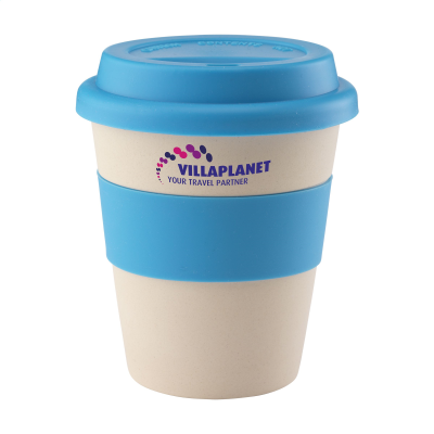 ECO BAMBOO MUG-TO-GO CUP in Light Blue