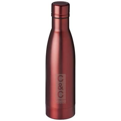 VASA 500 ML COPPER VACUUM THERMAL INSULATED SPORTS BOTTLE in Red