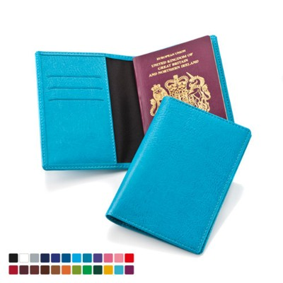 BELLUNO PU PASSPORT HOLDER TRAVEL WALLET