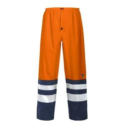 PROJOB HIGH VISIBILITY REFLECTIVE SAFETY RAIN TROUSERS