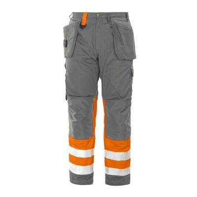 PROJOB HIGH VISIBILITY REFLECTIVE SAFETY TROUSERS