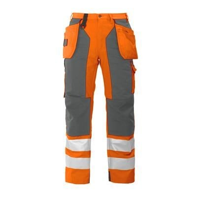 PROJOB HIGH VISIBILITY REFLECTIVE SAFETY WORK TROUSERS