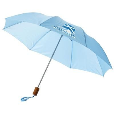 20 INCH OHO 2-SECTION UMBRELLA in Blue