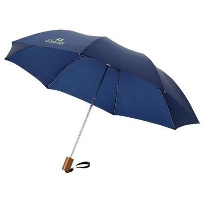 20 INCH OHO 2-SECTION UMBRELLA in Navy