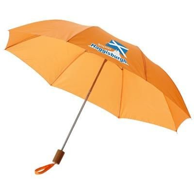 20 INCH OHO 2-SECTION UMBRELLA in Orange