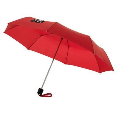 21,5 3-SECTION UMBRELLA in Red
