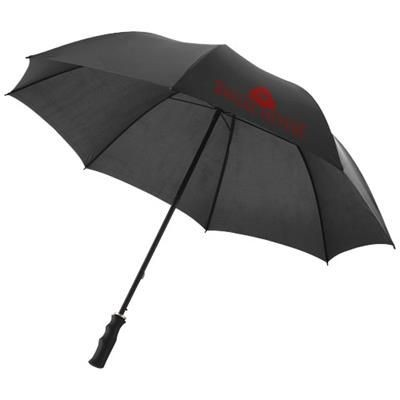 23 INCH BARRY AUTOMATIC UMBRELLA in Black Solid