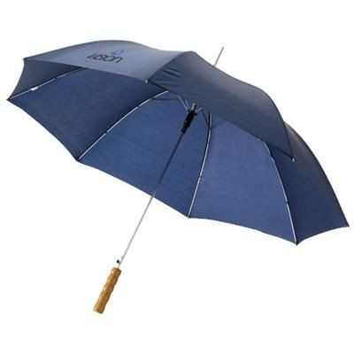 23 INCH LISA AUTOMATIC UMBRELLA in Navy