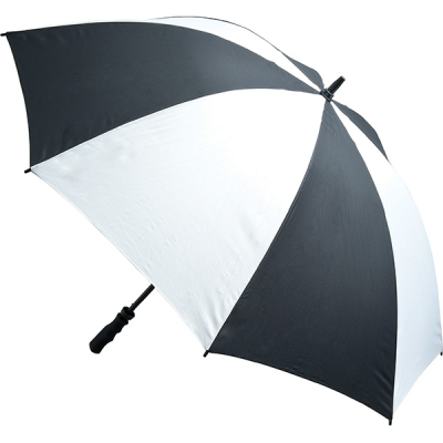 FIBREGLASS STORM UMBRELLA in Black & White