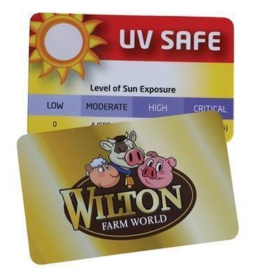 CREDIT CARD UV SUN GAUGE
